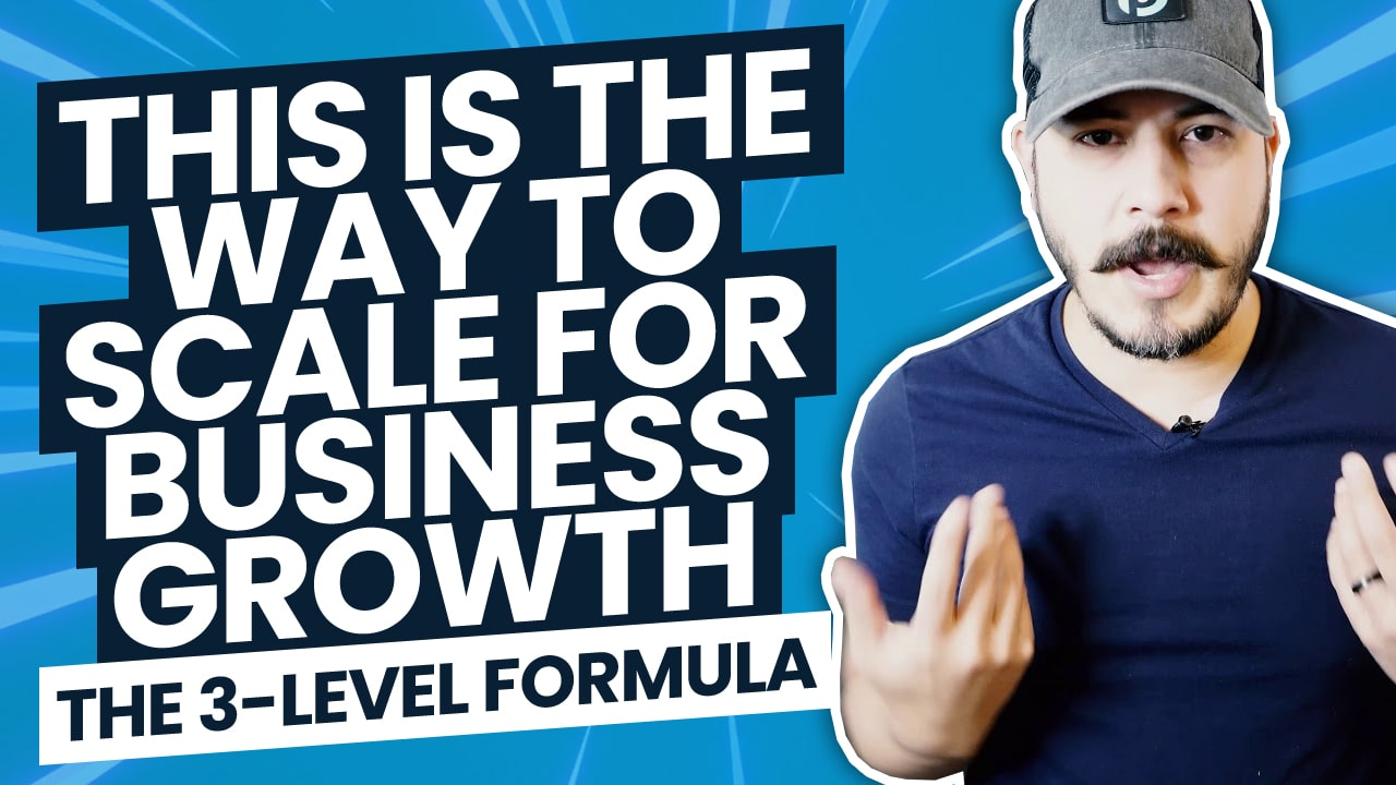 How to Scale for Business Growth: The 3-Level Formula